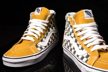 Vans Sk8-Hi Reissue checkerboard SprceYw-Nvy