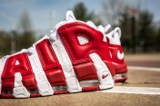 Nike Air More Uptempo white-gym red-8
