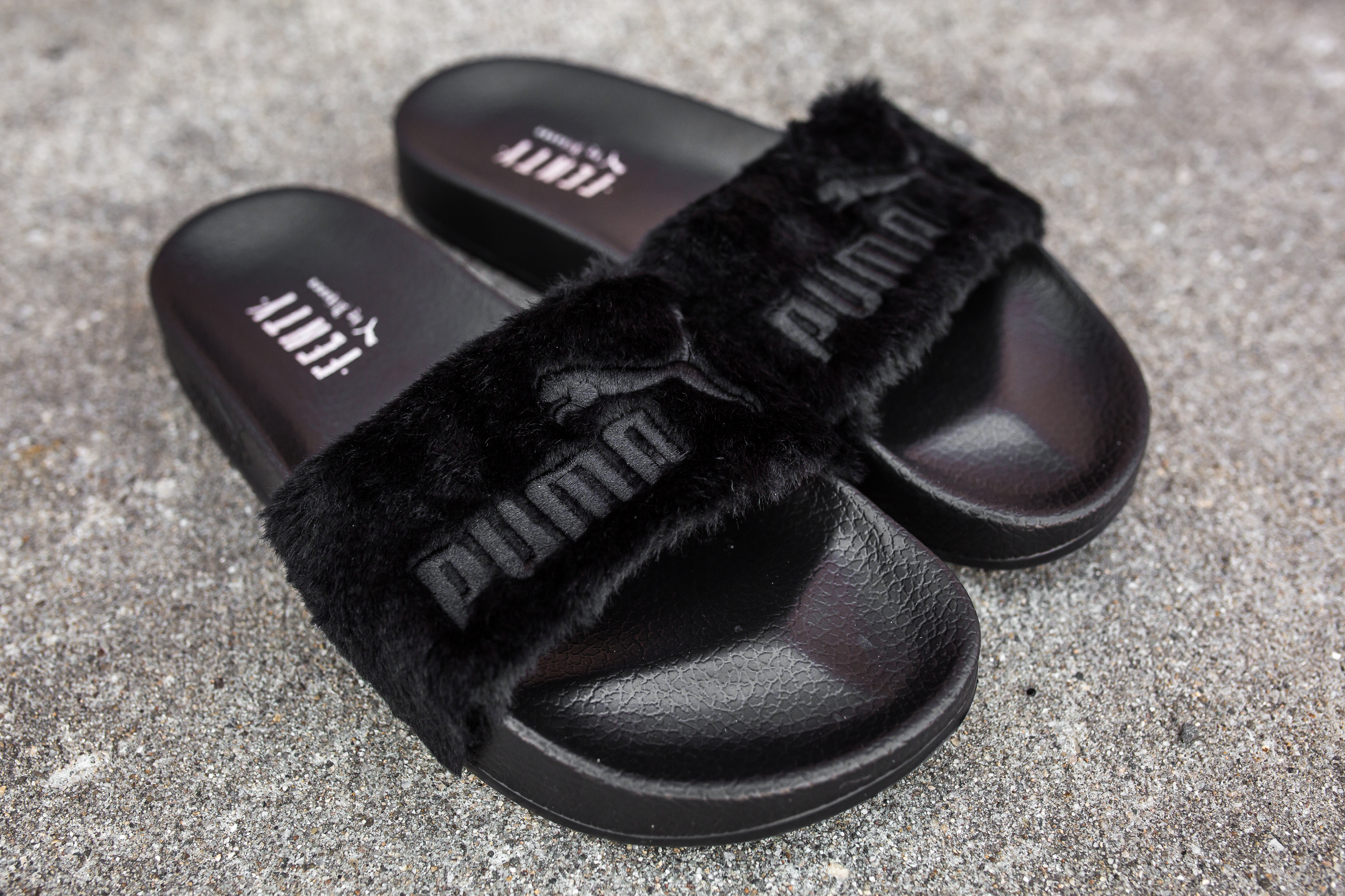 Rihanna x Puma Leadcat Fenty Fur Slides – PACKER SHOES