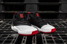 Adidas Crazylights White-Black-Red angle