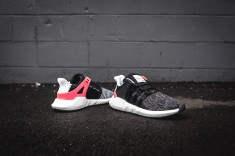 Adidas EQT 93/17 Boost; Black White; DS; Size US 11