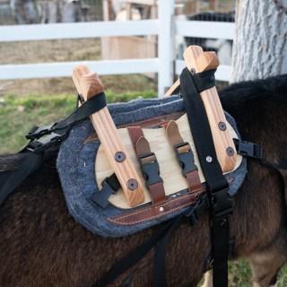 Classic Pack Goat Saddle