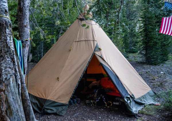 Tentipi pack goat tent