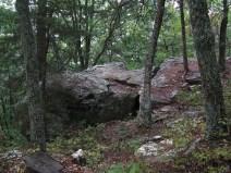 Rocks on 2.5 mile section