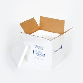 8x6x4 1/2″ Insulated Shipper – 1 1/2″ Thickness $7.6/piece