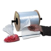 3×8 1/2″ 1.5 Mil Standard Gauge Poly Bags On A Roll (2000/roll) $38.96/piece