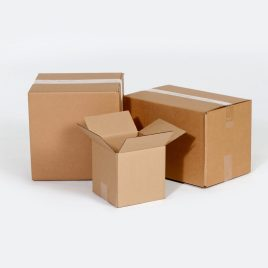 12 3/4×6 3/8×13 1/2  32ECT Master Carton holds 4-Pack of 6x6x6 Boxes $0.68/piece
