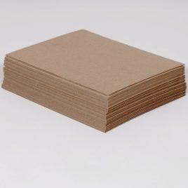 12 x12″  22 pt. Chipboard Pad (625/case) $56.57/piece