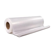 9'x400` 1 Mil Clear Poly Sheeting $59.09/piece