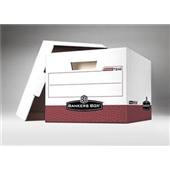 Bankers Box® Premium File Storage Box – 15x12x10″  Red – #406451 / FEL07242 $109.5/piece