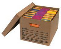 15x12x10″ Kraft Economy File Storage Boxes with Lids (12/Case) $30.08/piece