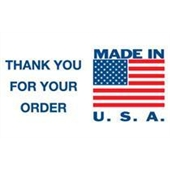 #DL1630  3×5″  Made In USA Thank You for Your Order Label $13.91/piece