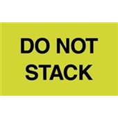 #DL2241  3×5″  Do Not  Stack Label $13.91/piece