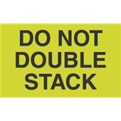 #DL2261  3×5″  Do Not  Double Stack Label $13.91/piece