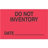 #DL3421  3×5″  Do Not Inventory… Date  _____ Label $13.91/piece
