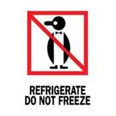 #DL4000  3×4″  Refrigerate Do Not Freeze (Penguin) Label $13.91/piece