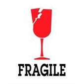 #DL4100  3×4″  Fragile (Broken Glass) Label $13.91/piece