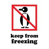 #DL4200  3×4″  Keep from Freezing (Penguin) Label $13.91/piece