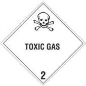 #DL5110  4×4″  Toxic Gas – Hazard Class 2 Label $13.91/piece