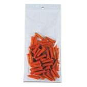 2×12″ 2 Mil Hang Hole Reclosable Poly Bag (1000/Case) $23/piece