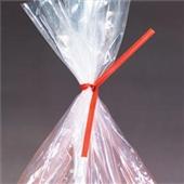 4″x3/16″ Red Paper Twist Ties (1000/bag) $6.6/piece