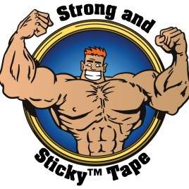 3″x110 yds. 1.9 Mil Strong and Sticky™ Clear Acrylic Carton Sealing Tape (24/Case) $52.42/piece