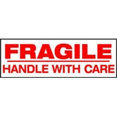 2″x1000 yds. 2.0 Mil Fragile Handle With Care Pre-Printed Carton Sealing Tape (6/Case) $189.98/piece