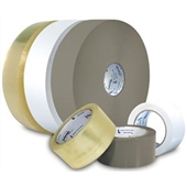 2″x2000 yds. 1.6 Mil Utility Grade Clear Hot Melt Carton Sealing Tape (4/Case) $136.59/piece