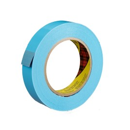 1/2″x60 yds. 4.6 Mil Blue 160lbs Tensile Strength 3M #8898 Scotch® Polypropylene Stapping Tape (72/case) $266.35/piece
