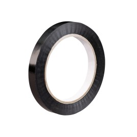 3/4″x60 yds. 2.7 mil Black 94 lbs. Tensile Strength Tensilized Polypropylene Strapping Tape (96 case) $165.73/piece