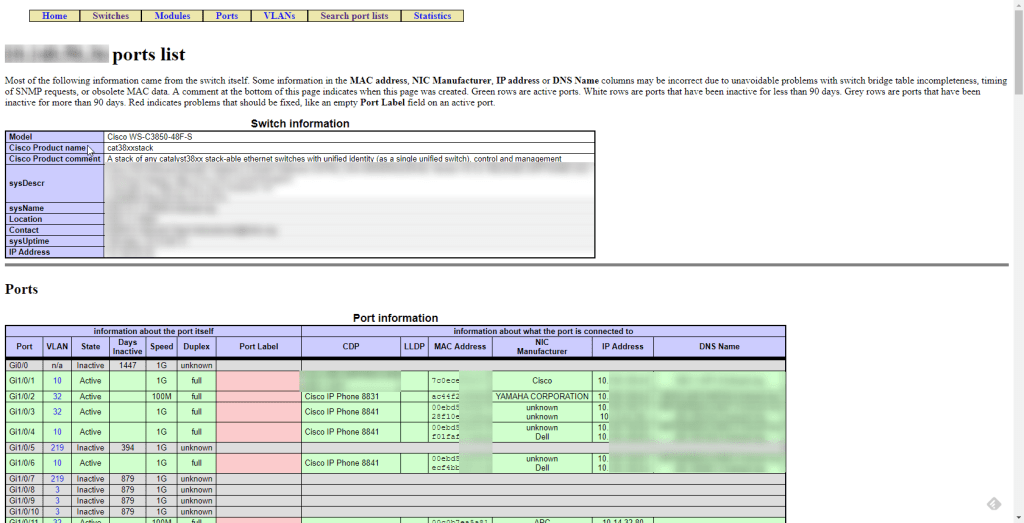 Screenshot of the SwitchMap tool web page.