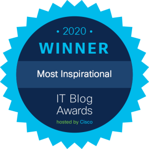 Cisco IT Blog Awards Winner Most Inspirational