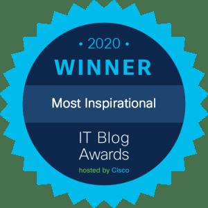 Cisco IT Blog Awards Winner Most Inspirational