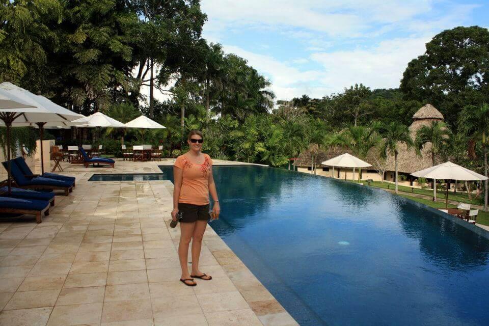 Chaa Creek Resort pool
