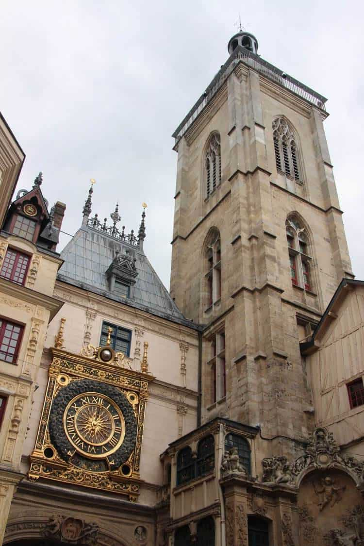 Le Beffroi Clock and Tower in Rouen France