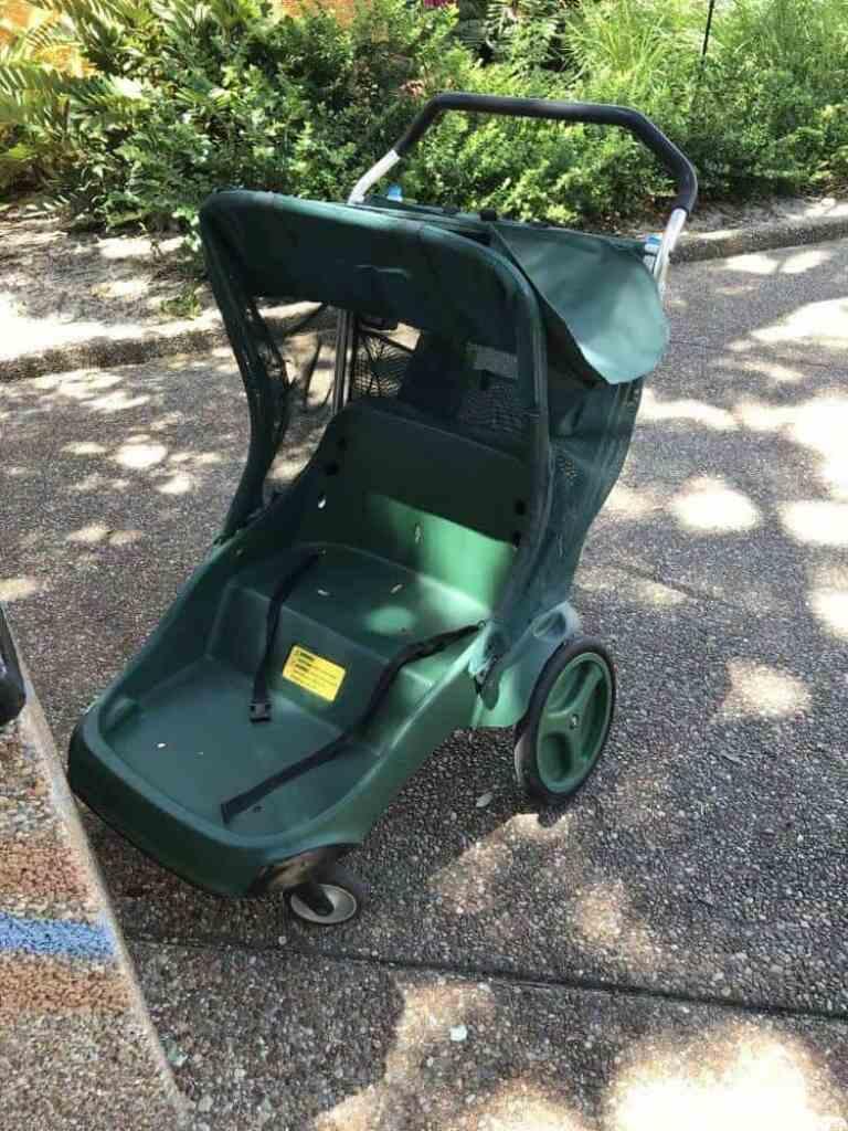 Busch Gardens with kids stroller rentals