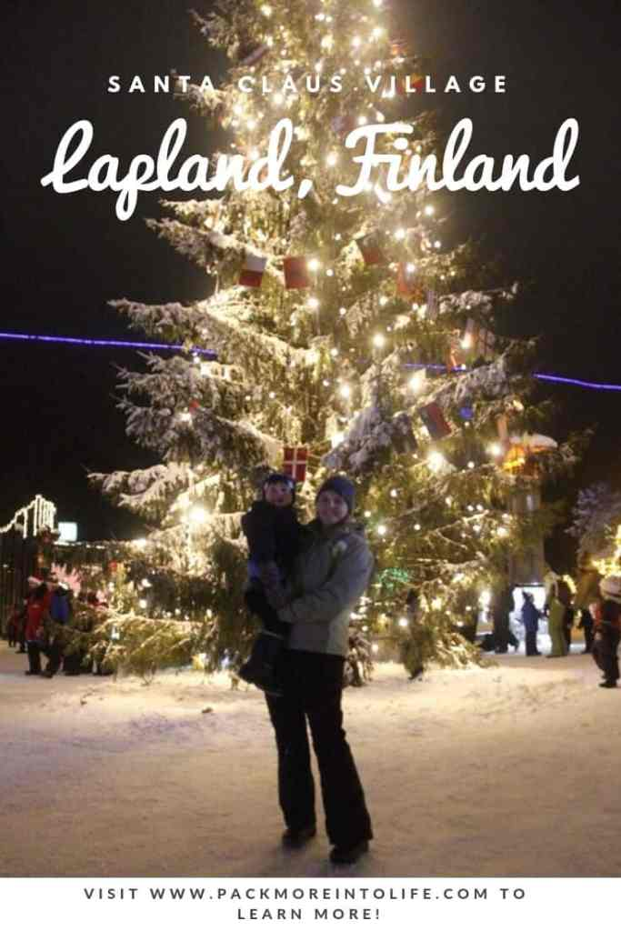 Santa Claus Village Lapland Finland Pinterest