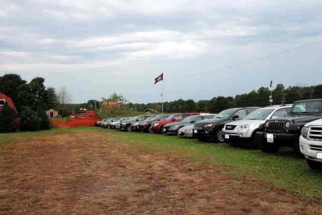 Cox Farms Parking