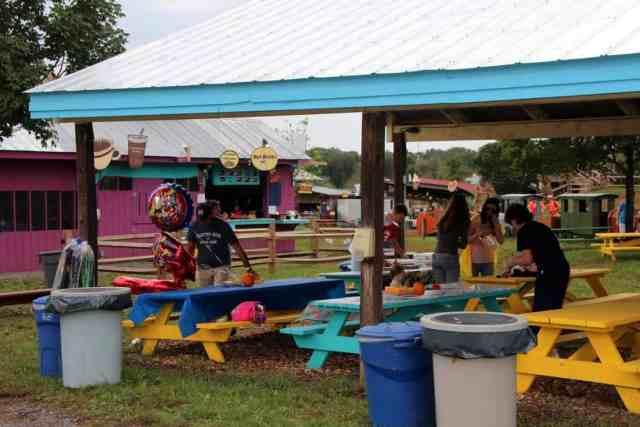 Cox Farms Picnic Party area