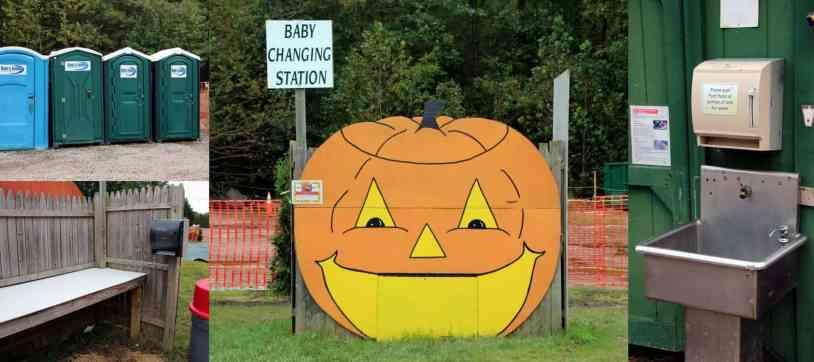 Burke Nursery Pumpkin Playground Baby Changing Table