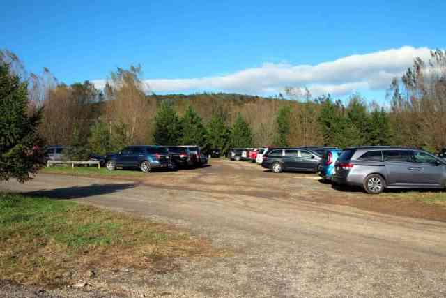 Great Country Farms Bluemont, Virginia parking