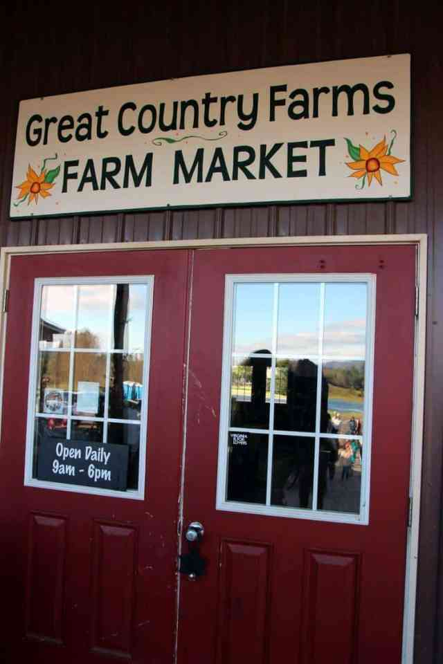 Great Country Farms Bluemont, Virginia entrance