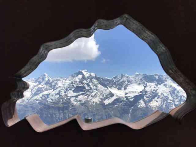 The beautiful views from Schiltthorn