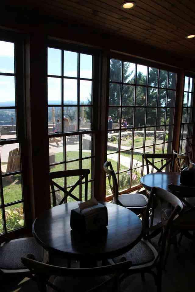 Dirt Farm Brewing | Blue Ridge Mountains | Seating
