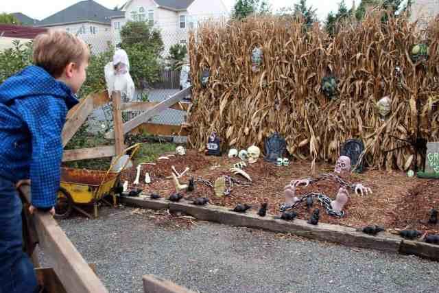 Nalls Produce Halloween Displays