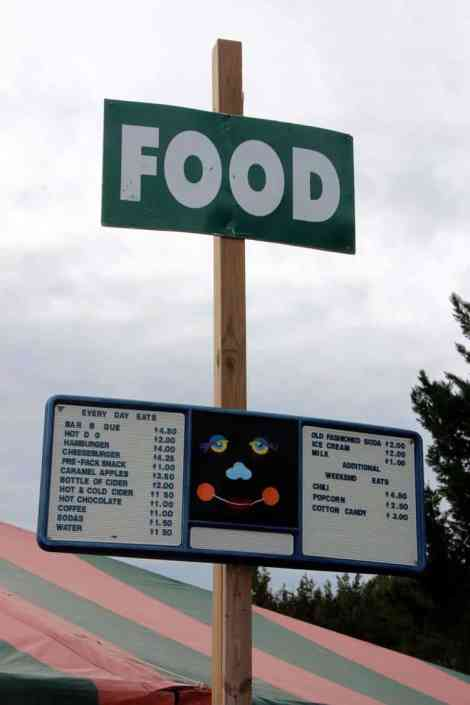 Burke Nursery Pumpkin Playground Food