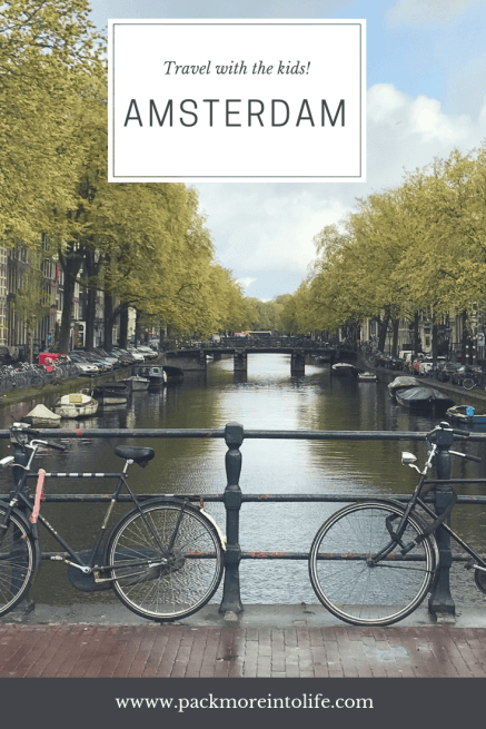 Amsterdam, Netherlands with kids