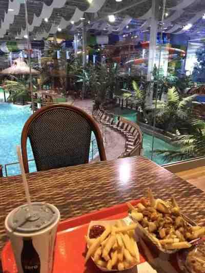 Bora Parc Valcartier Cafe with a view
