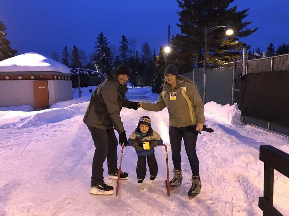 Valcartier Hotel Ice Skating