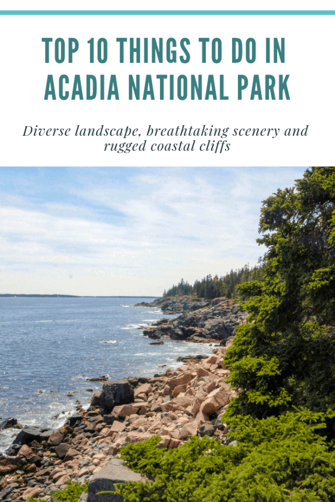 what to do in acadia national park